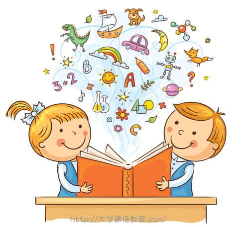 絵本の読み聞かせ会に参加した小学生