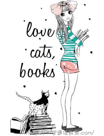 ネコと本が趣味の女子大学生