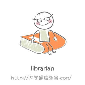 図書館で働く司書